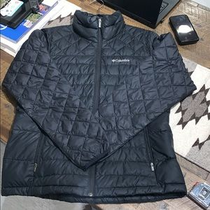 Columbia Puffy Jacket, Med, Black